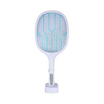 Usb Rechargeable Mosquito Killer Racket With 3layer Safety Mesh