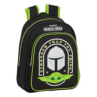 Child bag The Mandalorian Black Green