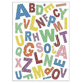 """Ciao Bella 4""""x6"""" Stamps - Baby Alphabet"""