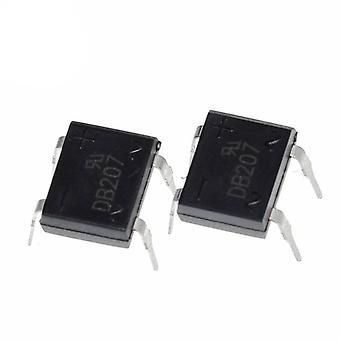 Diodenbrücke Gleichrichter Db207 Dip-4 , 2a 1000v