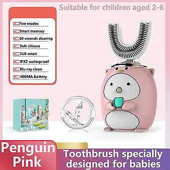 Enfants Sonic Electric Toothbrush (Rose)
