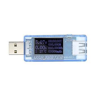 8 en1 testeur USB Multifonction QC2.0 COMPTEUR USB Puissance actuelle Capacité d'énergie Détecteur de puissance Voltmeter Ammeter