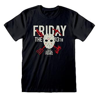 Friday The 13th Womens/Ladies The Day Everyone Fears Boyfriend T-Shirt
