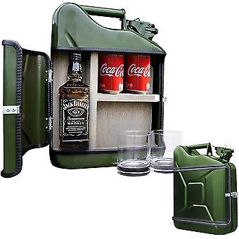 HanFei – Jerrycan Giftset 10L – Jerrycan Geschenkset – Whiskybar – Jack