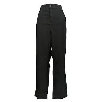 NYDJ Kvinders Petites Jeans Lige Hævning Cool Embrace Blue A395685