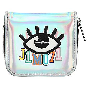 Depesche 10500 - Wallet with zipper and press button, Lisa and Lena J1MO71, color: Silver