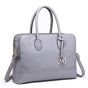 Miss Lulu LT1726 GY, Women's Bag, Grey, A4