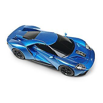 Officiële Ford GT sport auto draadloze computermuis - blauw