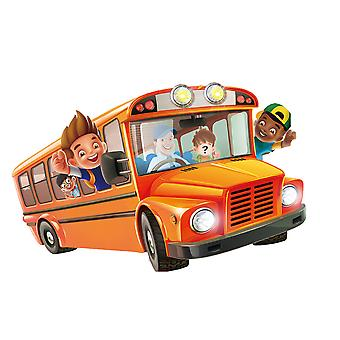 Who Is On The Bus Early Education Toy Party Game