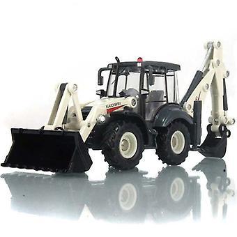 1:50 lega pressofusione inerzia escavatore inerzia 4 ruote pala caricatore bivia carrello elevatore bulldozer