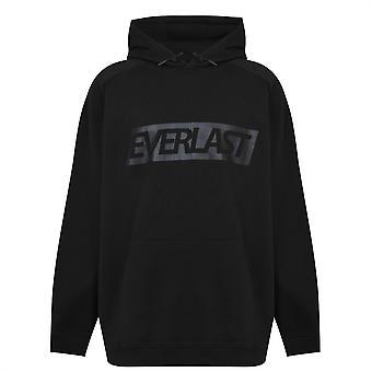 Everlast Mens Logo Hoodie OTH Lange Mouw Kangaroo Pouch Pocket Hoody Top