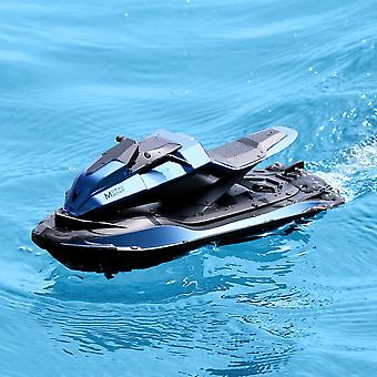 2.4G Racing Boat JJRC S9 1:14 Remote Control Dual Motor Ergonomic Design Motorcycles(Blue)