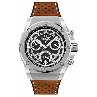 TW Steel Ace Genesis Limited Edition Chronograph Brown Strap ACE120 Watch