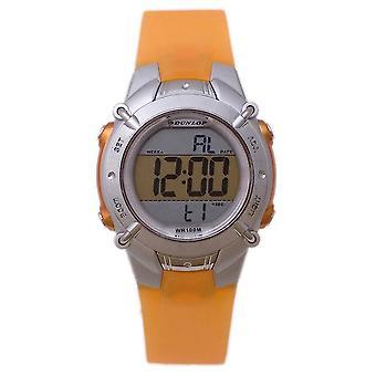 Dunlop watch dun-100-l08 trns orange