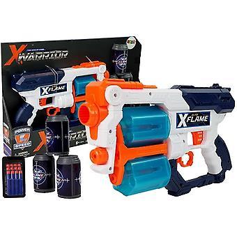 Nerfgun speelgoedgeweer wit - 18 m bereik