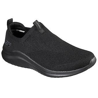Skechers Miesten korkea Apex Skech-neule Ultra Flex 2.0 - KWASI Slip On Sneaker