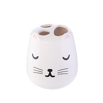 Sass & Belle Cutie Cat Toothbrush Holder