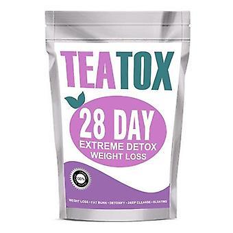 28 Dzień utrata masy ciała herbata detox oczyszczanie i odchudzanie teatox