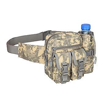 جديد acu حقيبة التكتيكية حقيبة الخصر زجاجة المياه الهاتف الحقيبة للرياضة في الهواء الطلق sm16543