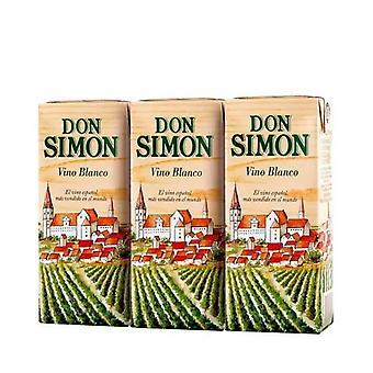 White wine Don Simon (3 x 187 ml)