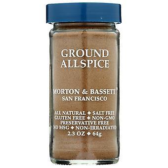 Morton & Bassett Allspice Ground, Case of 3 X 2.3 Oz