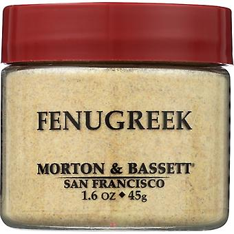 Morton & Bassett Seasoning Fenugreek, Case of 3 X 1.6 Oz