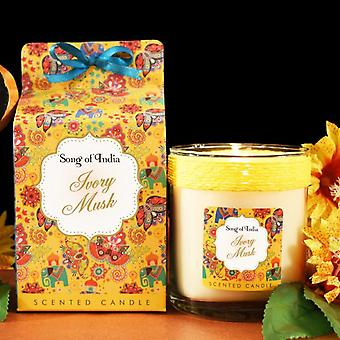 Ivory Musk Soy Wax Scented Candle