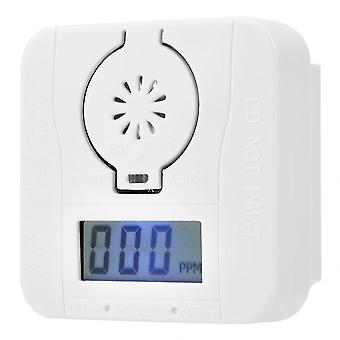 Warning Sensor Led Display Carbon Monoxide Detector