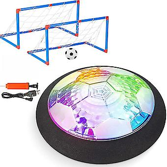 Air Power Plovoucí fotbalové hračky Kit Fotbalový disk Vznášející se fotbalová hra lehká hračka blikající míč hračky