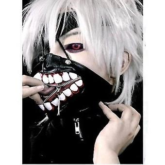 Anime parykker Tokyo Ghoul Cosplay paryk Cap