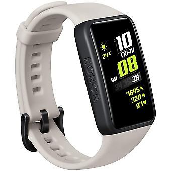 """HONOR Band 6 Smart Bracelet Full Screen 1.47 """"AMOLED Color Touchscreen SpO4 Hartslag Slaap Stress Zwemmen Activiteit Tracker Global Version (Grijs)"""