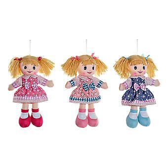 Rag Doll DKD Kodin sisustus (3 kpl) (15 x 5 x 30 cm)