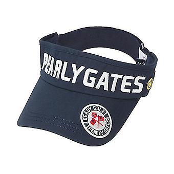 Golf hut Pearly Gates, Outdoor Sports Cap, Sonnenschutzschirm (Schwarz)
