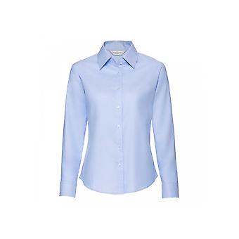 Russell Collection Ladies' Long Sleeve Tailored Oxford Shirt R932F