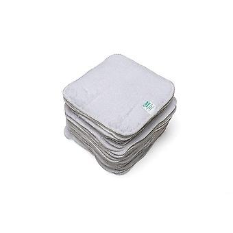 Babypflege Frottee-Tücher weiß 25 Stück
