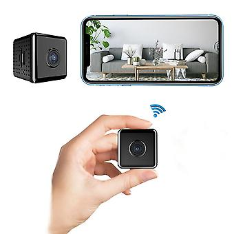 W10 1080p Hd Mini Wireless Wifi Camera Infrared Night Vision Motion Detection 90 Degree Wide Angle