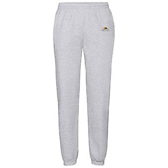 Fruit of the Loom Unisex Adult Vintage Small Logo Printed Classic Jogging Bottoms