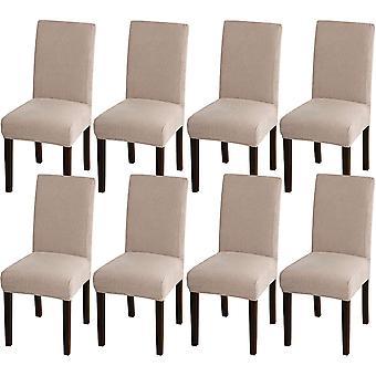 Ruokasalin tuoli kattaa venyttää tuolin kansia ruokasalin keittiötuoli kattaa irrotettavat tuolisuojan kannet ruokasaliin, hotelliin, hiekkaan