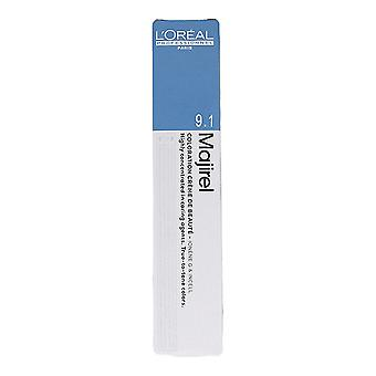 Colorant Permanent Majirel Cool Inforced L'Oréal Professionnel Paris Nº 9.1 (50 ml)