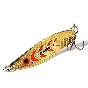 سبينر الصيد إغراء معدني الطعم ملعقة صيد معالجة
