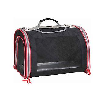 Pet Carrier Bag Expandable Foldable Travel Portable Mesh Sac