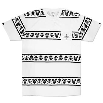 Crooks & Castles Skull Squadron Pocket T-Shirt White