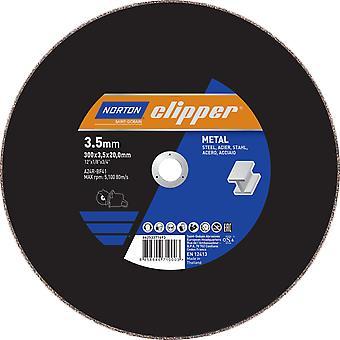Norton Clipper Flache Metallschneidscheibe 300mm