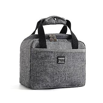 Household storage bags portable lunch bag thermal insulated lunch box tote cooler bento container storage bags