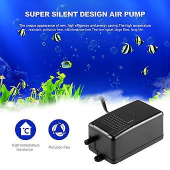 Black Super Silent Electric 220-240v 3w Fish Aquarium Oxygenm Air Pump