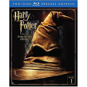 Harry Potter & Sorcerer's Stone [Blu-ray] USA import