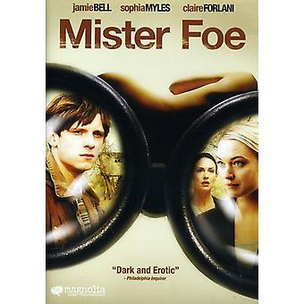 Mister Foe [DVD] USA import