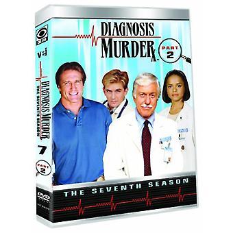 Diagnoosi: murha: 7 kausi - osa 2 [DVD] USA tuonti