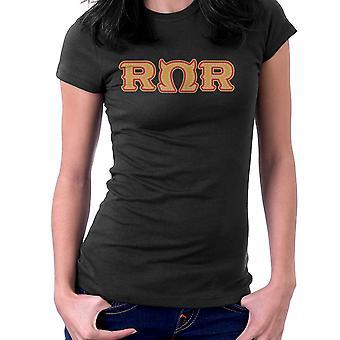 Monster University brorskap brøl Omega brøl Womens t-skjorte