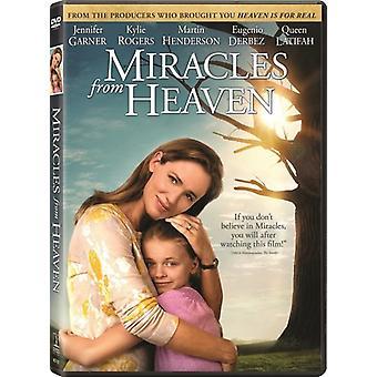 Importação de EUA milagres do céu [DVD]